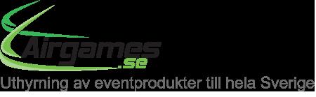 Airgames - uthyrning av eventprodukter till hela Sverige